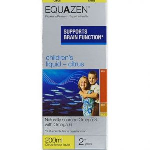 Eye Q, children's liquid, smak cytrynowy, 200ml